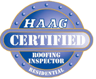 HAAG Certification Badge for Christian Brother's Roofing
