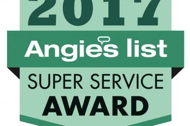 Angies Super Service award logo