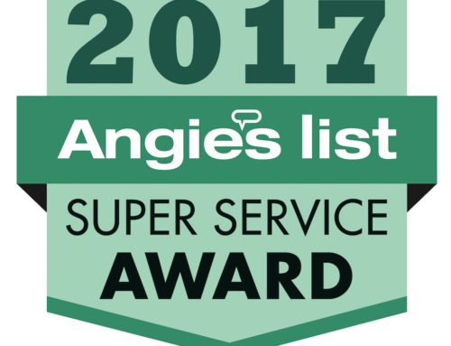 2017 Angie's List Super Service Award Press Release