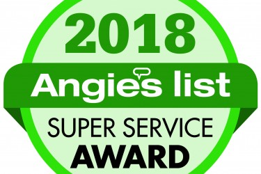 Angies List Super Service Seal 2018