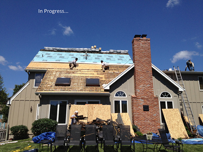 Residential Roofing | Before