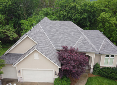Insurance Claim Roof Repair in Parkville