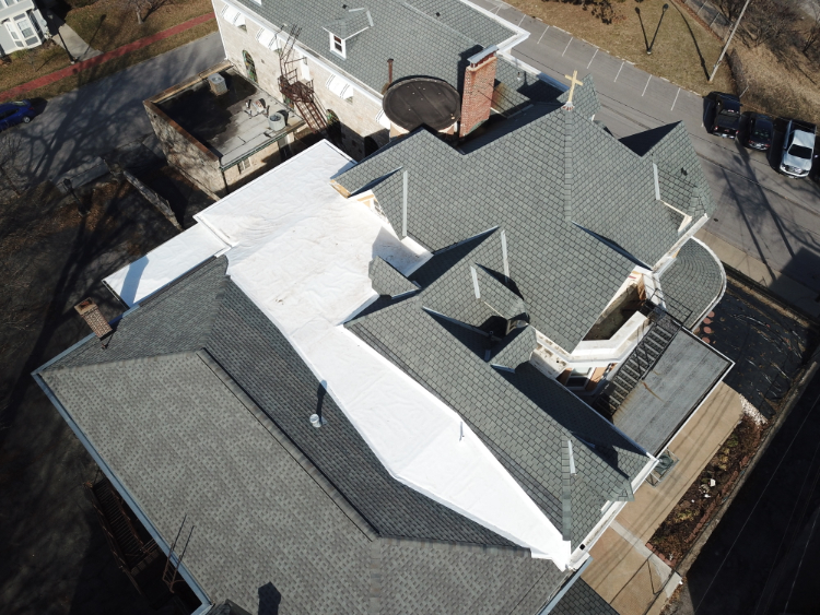 Rubber Roof Advantages For Churches And Commercial Business