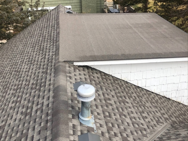 Wood Roof Replacement