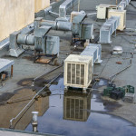 Ponding Water On Commercial Roof